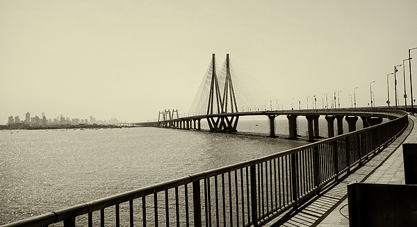 Horizontal Photograph - Bandra Worli Sea Link by For me, photographs are a great medium to tell a story. Whe