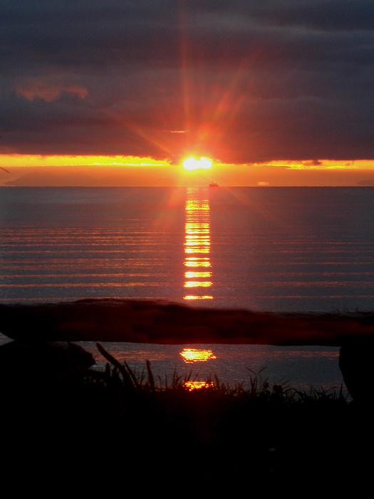 Sunrise Photograph - Baptism Sunrise by Barbara Stirrup