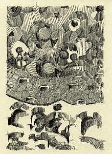 Barcellona Drawing by Alexander Luigi Di Meglio