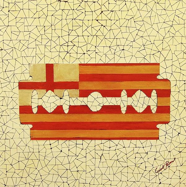 Barcelona Painting - Barcelona by Emil Bodourov