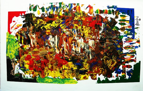 Bariloche Painting by Adolfo hector Penas alvarado