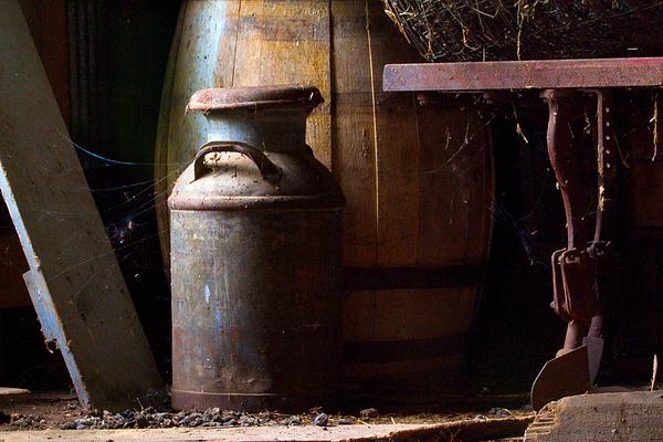 Antique Photograph - Barn Art by Jim Finch