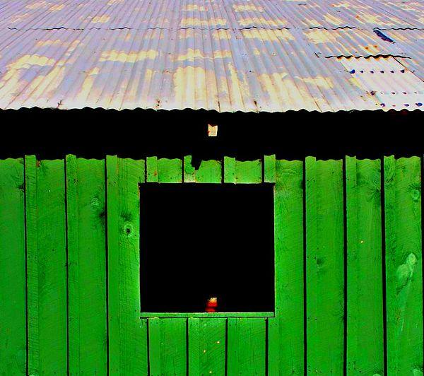 Tin Roof Photograph - Barn by Jill Tennison