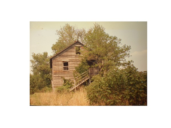 Country Photograph - Barn Wood Homestead by Hal Newhouser