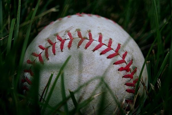 Baseball Photograph - Baseball by Diane Reed