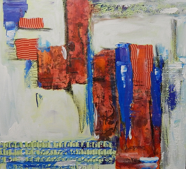 Abstract Painting - Based On True Events by Sue Furrow