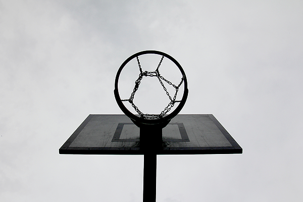 Horizontal Photograph - Basketball Hoop by Christoph Hetzmannseder