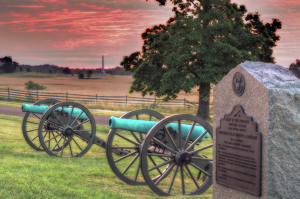 Army Of The Potomac Photograph - Battery F Cannon Gettysburg Battlefield by Randy Steele