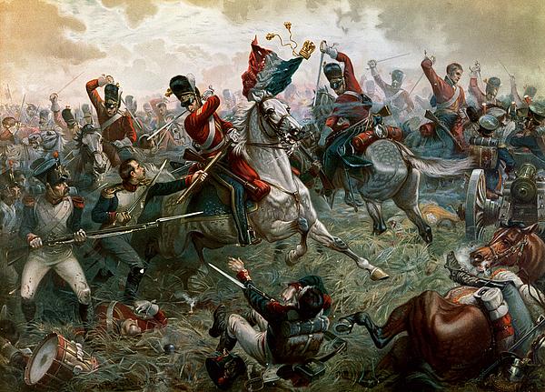 Uniform Painting - Battle Of Waterloo by William Holmes Sullivan