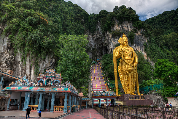 272 Photograph - Batu Caves by Adrian Evans