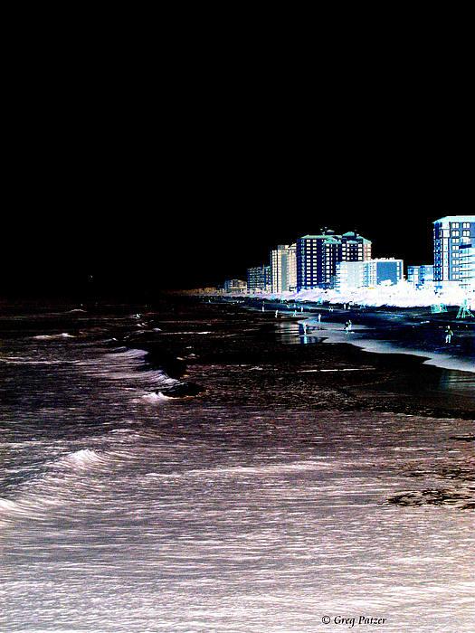 Patzer Photograph - Beach Night by Greg Patzer