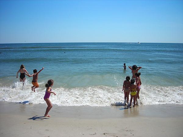 Beach Photograph - Beach Play by Ruth Sharton