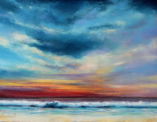 Beach Pastel - Beach Sunset by Prashant Shah