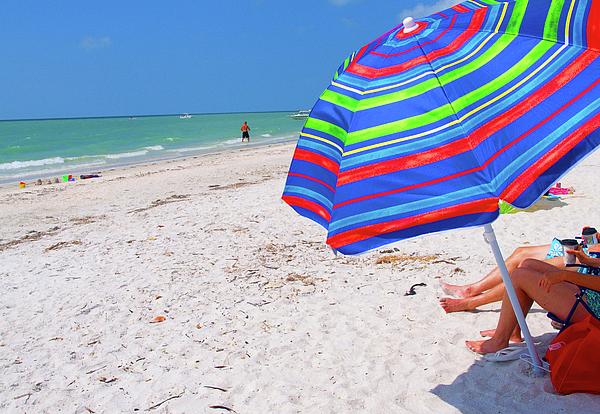 Beach Umbrella Photograph - Beach Umbrella by Carol McCutcheon
