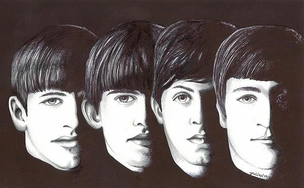 Cool Drawing - Beatles by Julian  B