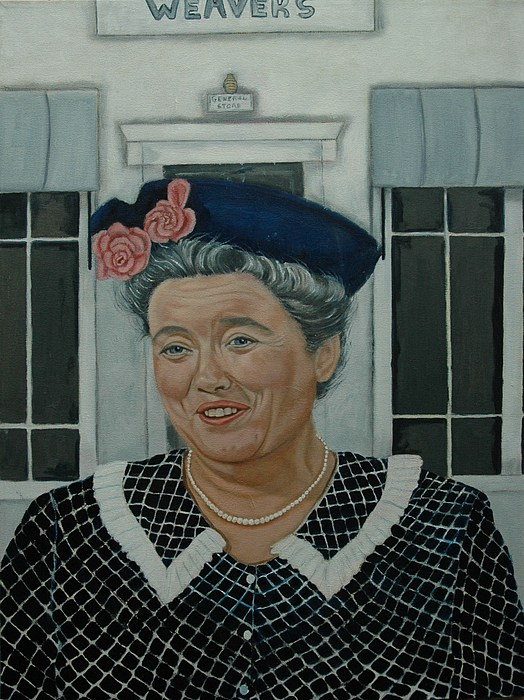 Aunt Painting - Beatrice Taylor As Aunt Bee by Tresa Crain