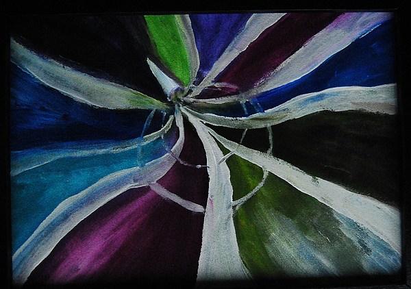 Beautful Vortex Painting by Tina Haeger