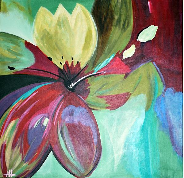 Flower Painting - Beautiful Bloom by Heather  Hamrick