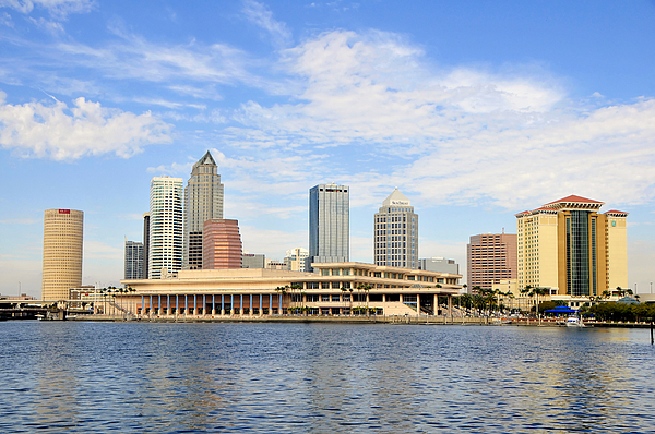 Fine Art Photography Photograph - Beautiful Day Tampa Bay by David Lee Thompson