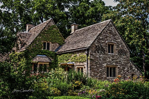 Stone House Photograph - Beautiful Home by Joann Copeland-Paul