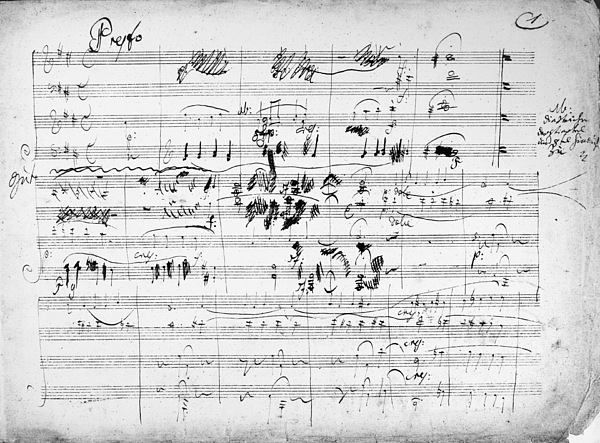 1808 Photograph - Beethoven: Ghost Trio by Granger