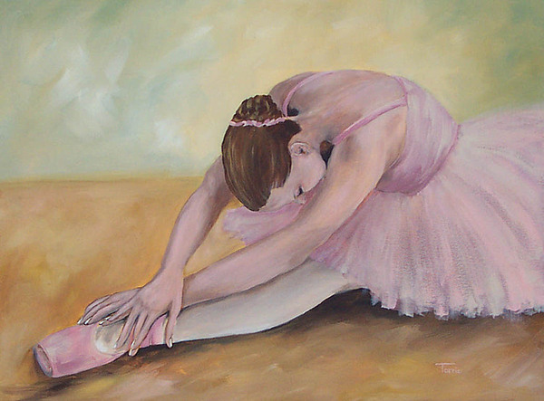 Dancer Painting - Before The Ballet  by Torrie Smiley
