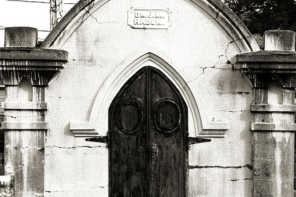 Cemetery Photograph - Behind Every Door by Lucky LaRue