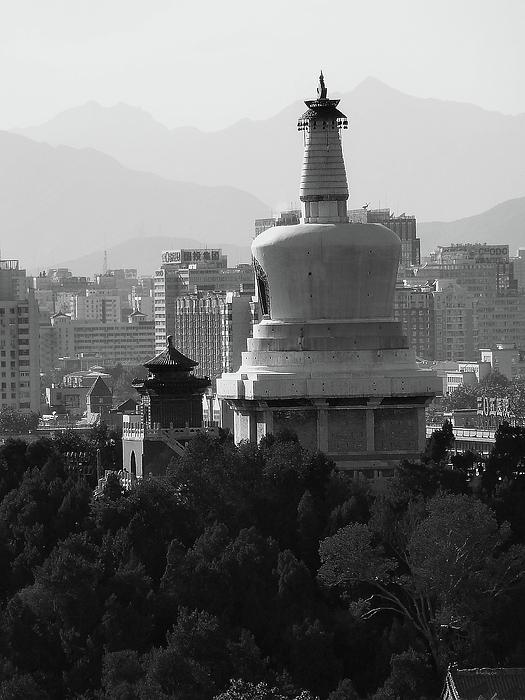 Beijing Photograph - Beijing City 3 by Xueling Zou