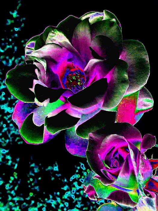 Bella Flora Digital Art - Bella Flora 8 by Will Borden