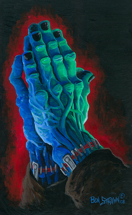 Universal Monsters Painting - Belong Dead by Ben Von Strawn