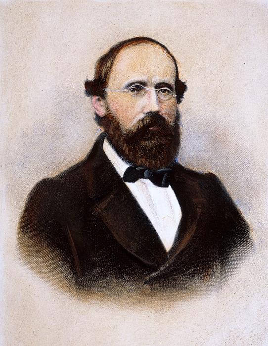 Bernhard Riemann Photograph By Granger