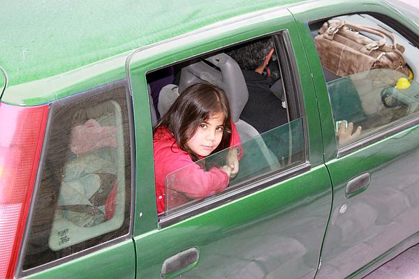 Portrait Photograph - Bethlehem - Little Girl Of Bethlehem by Munir Alawi