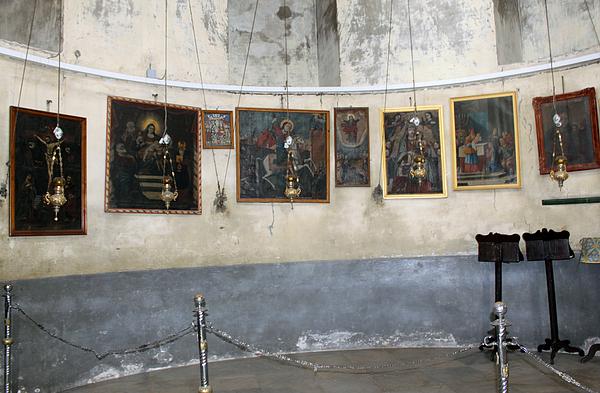 Nativity Photograph - Bethlehem - Nativity Church Paintings by Munir Alawi