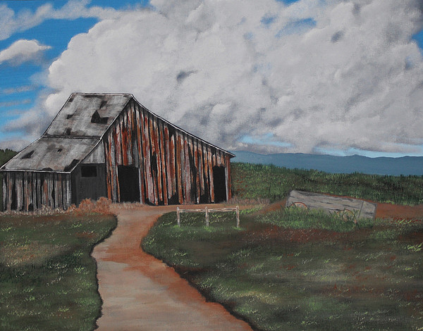 Landscape Painting - Better Days by Candace Shockley