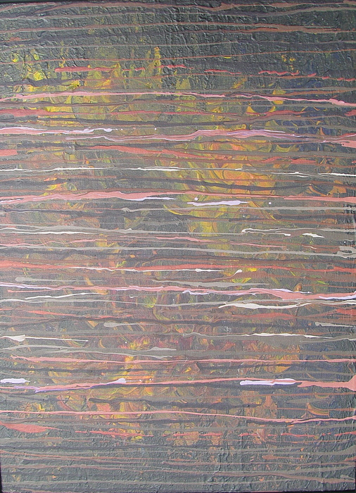 Lines Painting - Between The Lines by Jacqueline Athmann