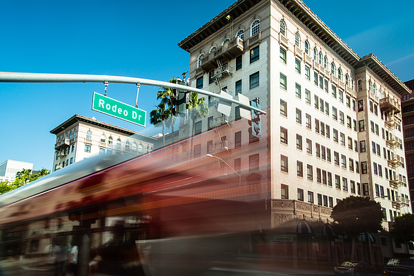 America Photograph - Beveryly Hills Two by Josh Whalen