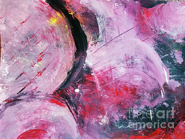 Abstract Painting - Beyond The Confines by Maura Satchell