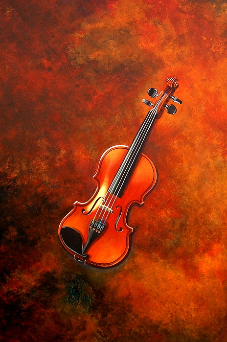 Musical Painting - Bien Joue Or Well Played by Pamela Roehm