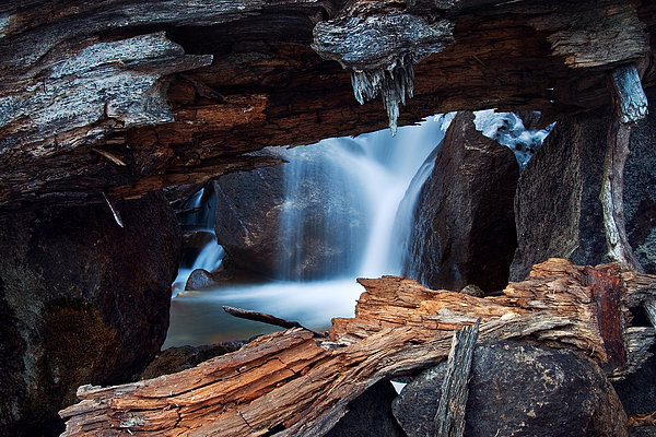 Big Pine Photograph - Big Pine Creek by Nolan Nitschke