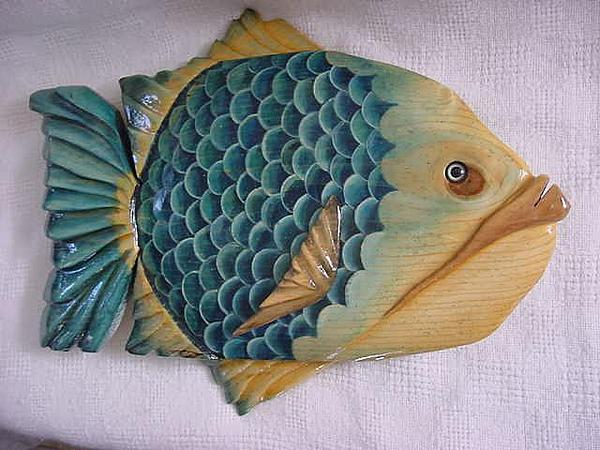 Florida Relief - Big Pine Key- Wooden Florida Fish-sold by Lisa Ruggiero