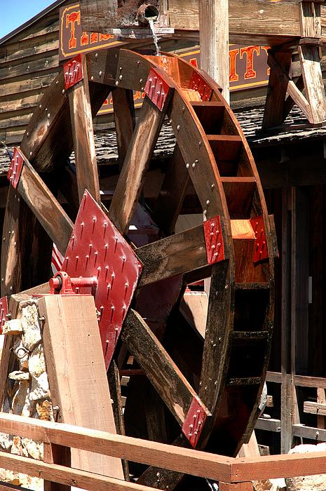 Usa Photograph - Big Wheels Keep On Turning by LeeAnn McLaneGoetz McLaneGoetzStudioLLCcom