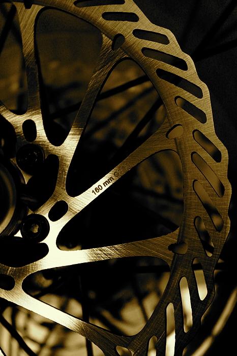 Bike Photograph - Bike Brake by Angie Wingerd