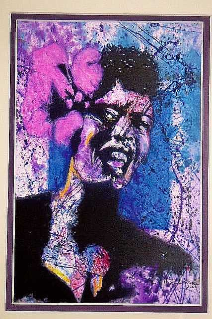 Jazz Mixed Media - Billie Holiday by Logan Kearse