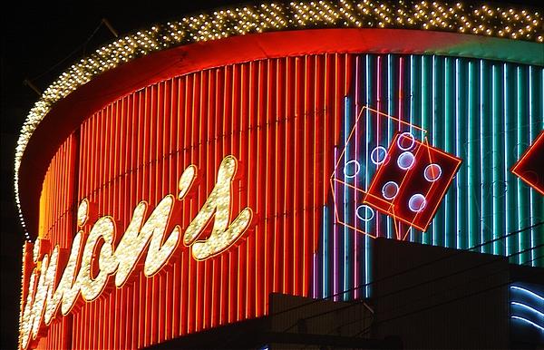 Las Vegas Photograph - Binions Casino  by Bill Buth