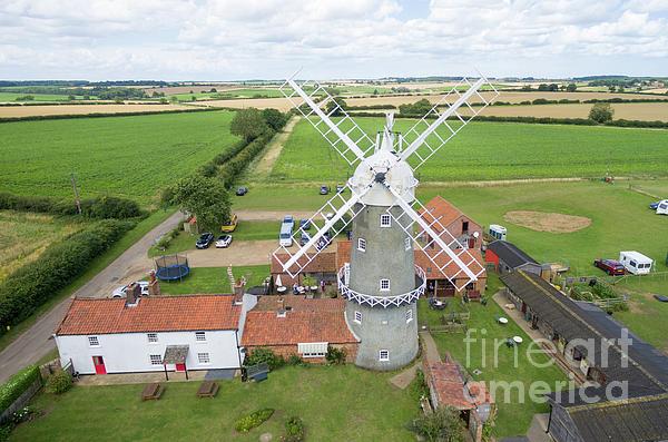 Bircham Photograph - Bircham Windmill by Steev Stamford