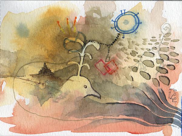 Bird Painting - Bird by Josep Roig