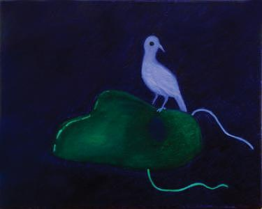 Bird Painting - Bird by Victor Lysakov