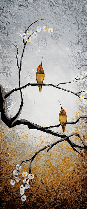 Painting Painting - Birds by Mike Irwin