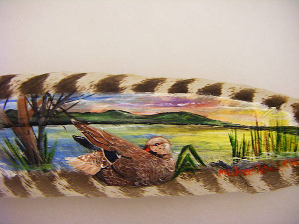 Feathers Painting - Birds Of A Feather by Mickey Patrick