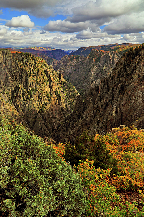 Black Canyon Of The Gunnison Photograph - Black Canyon Of The Gunnison - Colorful Colorado - Landscape by Jason Politte